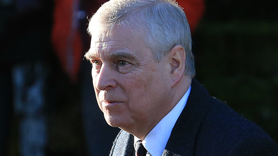 Britain's Prince Andrew, Duke of York, arrives to attend a church service at St Mary the Virgin Church in Hillington, Norfolk, eastern England, on January 19, 2020. - Britain's Prince Harry and his wife Meghan will give up their royal titles and public funding as part of a settlement with the Queen to start a new life away from the British monarchy. The historic announcement from Buckingham Palace on Saturday follows more than a week of intense private talks aimed at managing the fallout of the globetrotting couple's shock resignation from front-line royal duties.