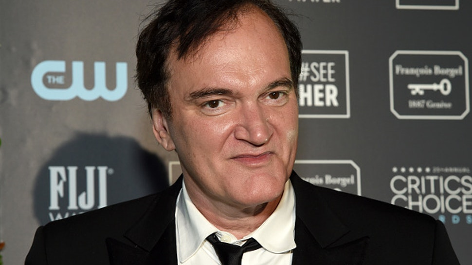 SANTA MONICA, CALIFORNIA - JANUARY 12: Quentin Tarantino, winner of Best Picture for 'Once Upon a Time in Hollywood', attends the 25th Annual Critics' Choice Awards at Barker Hangar on January 12, 2020 in Santa Monica, California.