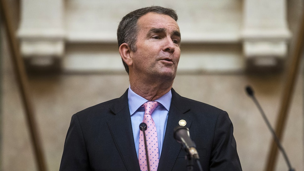 RICHMOND, VA - JANUARY 08: Gov. Ralph Northam delivers the State of the Commonwealth address at the Virginia State Capitol on January 8, 2020 in Richmond, Virginia. The 2020 legislative session began today under Democratic control.