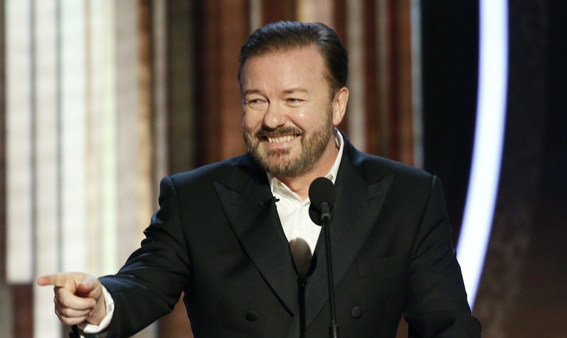 CURL: Ricky Gervais Should Host Every Hollywood Award Show Forever