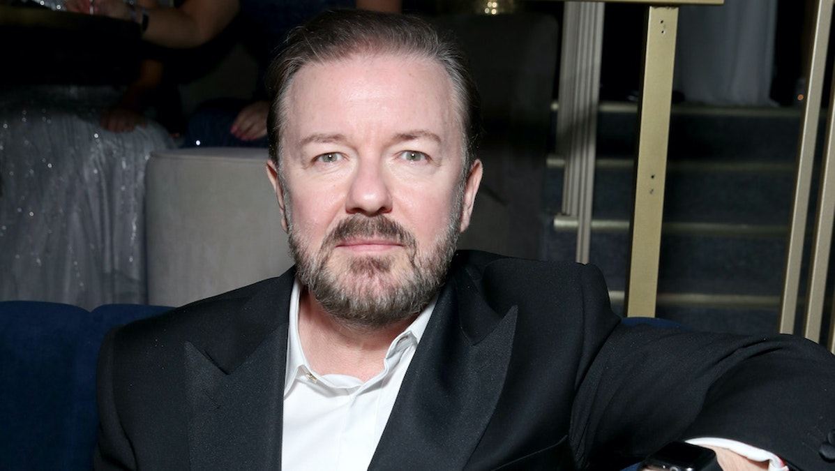 Ricky Gervais Vaults To Top Comedian, Actor After Golden Globes