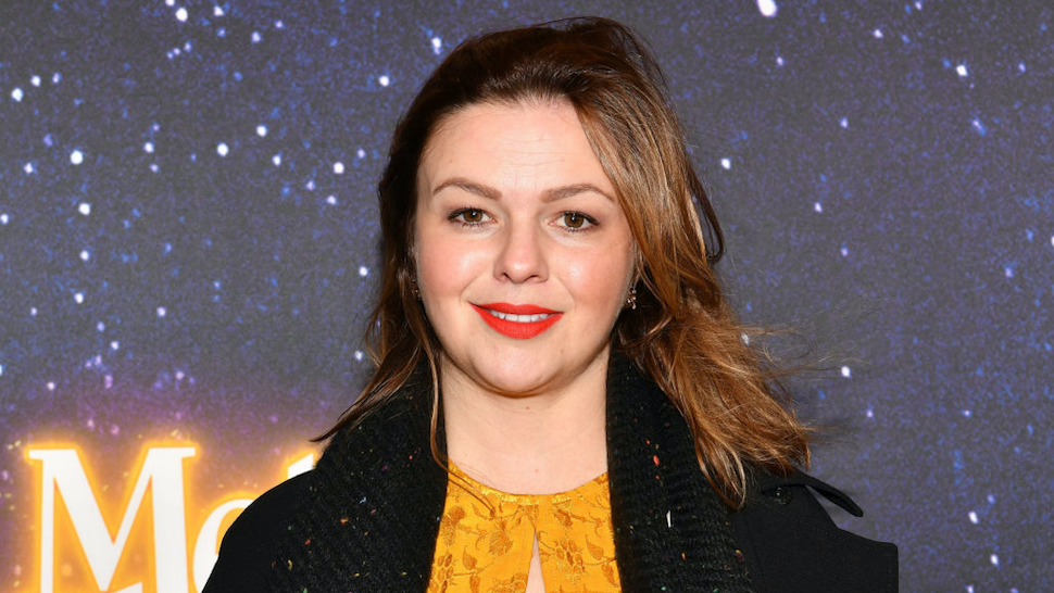 """Amber Tamblyn attends the """"Meteor Shower"""" Broadway Opening Night at the Booth Theatre on November 29, 2017 in New York City."""