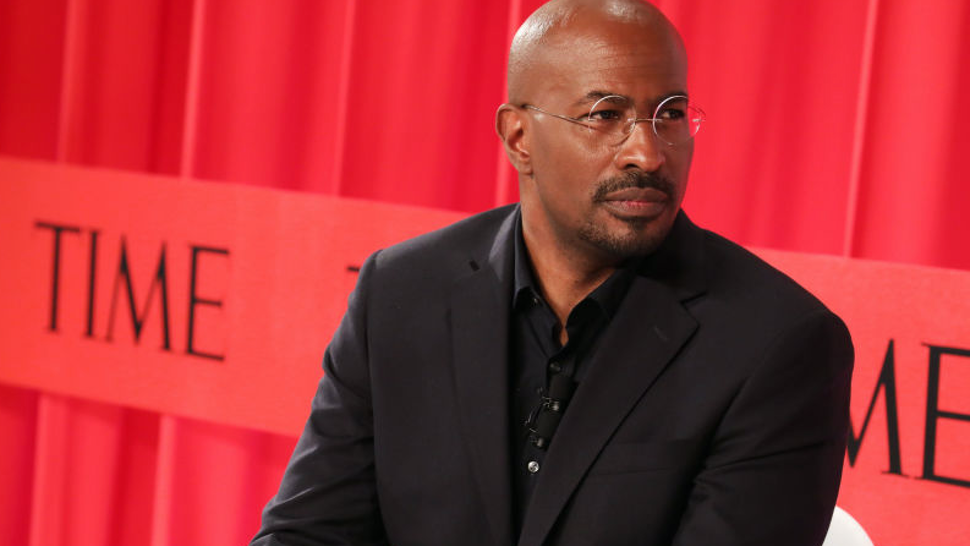 Van Jones participates in a panel discussion during the TIME 100 Summit 2019 on April 23, 2019 in New York City.