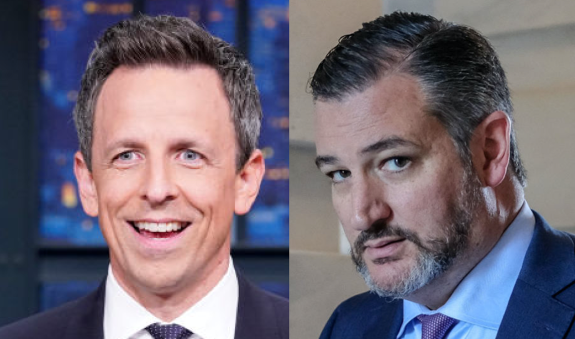 Seth Meyers Rips GOP For Lack Of Diversity. Ted Cruz Levels Him.