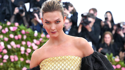 "Karlie Kloss attends The Metropolitan Museum Of Art's 2019 Costume Institute Benefit ""Camp: Notes On Fashion"" at Metropolitan Museum of Art on May 6, 2019 in New York City."