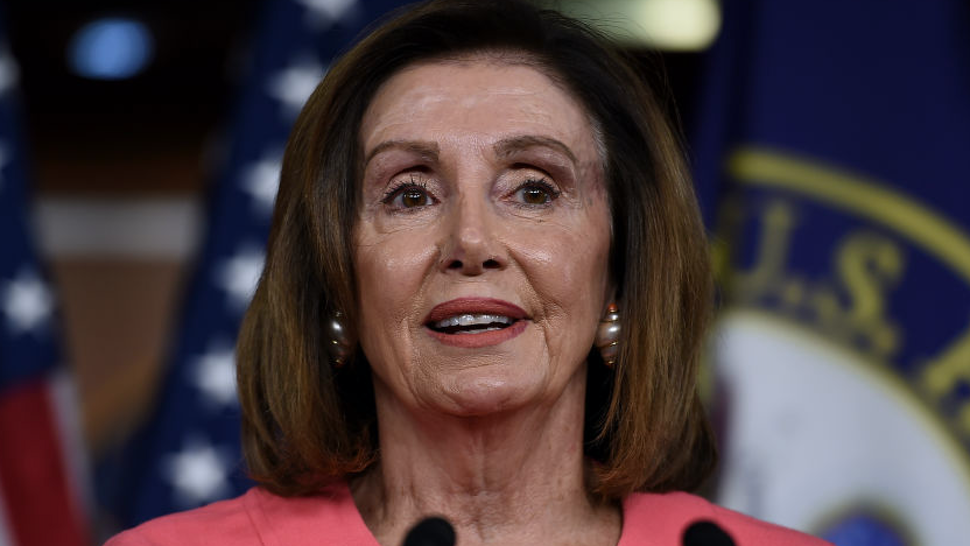 US Speaker of the House Nancy Pelosi (D-CA) speaks at a press conference to announce the impeachment managers on Capitol Hill January 15, 2020, in Washington, DC.