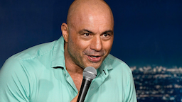 Comedian Joe Rogan performs during his appearance at The Ice House Comedy Club on March 15, 2019 in Pasadena, California.