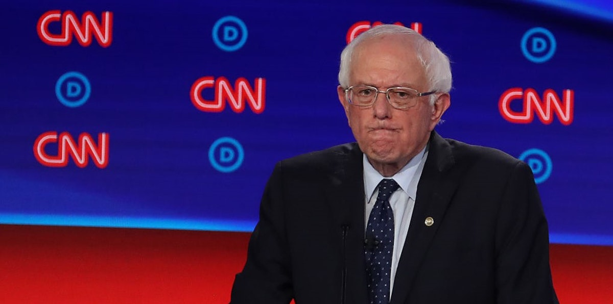 Panic On The Left As Democrats Realize Bernie Could Actually Win Nomination