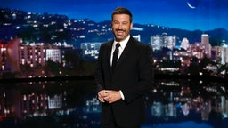 """""""Jimmy Kimmel Live"""" airs every weeknight at 11:35 p.m. EST and features a diverse lineup of guests that includes celebrities, athletes, musical acts, comedians and human-interest subjects, along with comedy bits and a house band."""