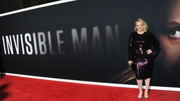 """Elisabeth Moss arrives for the premiere of Universal Pictures' """"The Invisible Man"""" held at TCL Chinese Theatre on February 24, 2020 in Hollywood, California."""