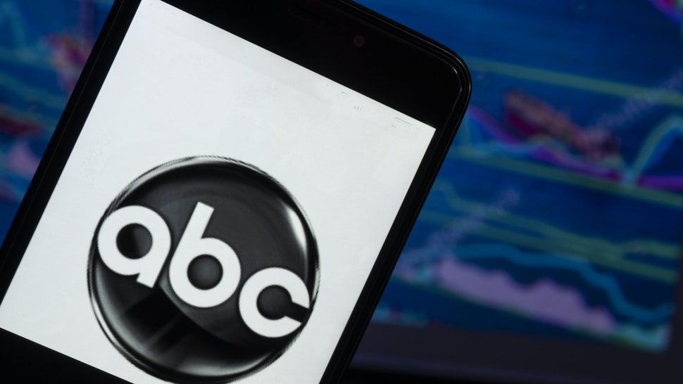 KIEV, UKRAINE - 2018/08/04: In this photo illustration, the ABC News logo seen displayed on a smartphone. ABC News is the news division of the American Broadcasting Company (ABC), owned by the Disney Media Networks division of The Walt Disney Company.