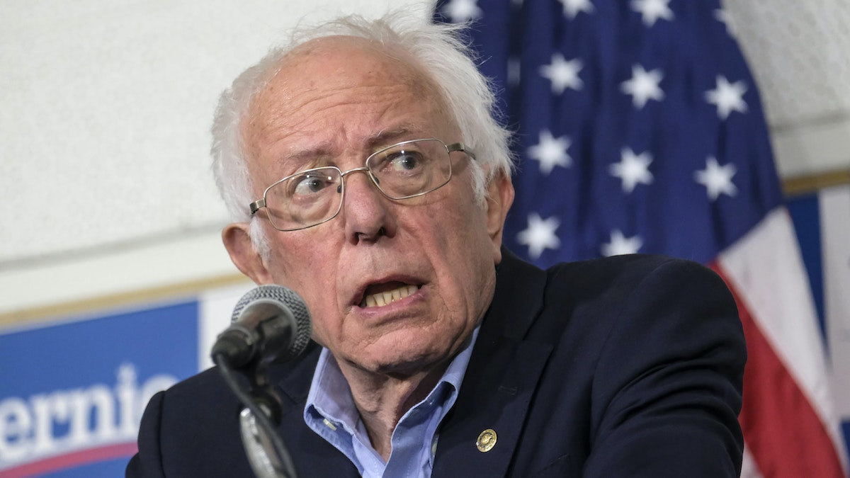 Bernie Responds To News That Russia Is Boosting His Campaign By Promoting Conspiracy Theory