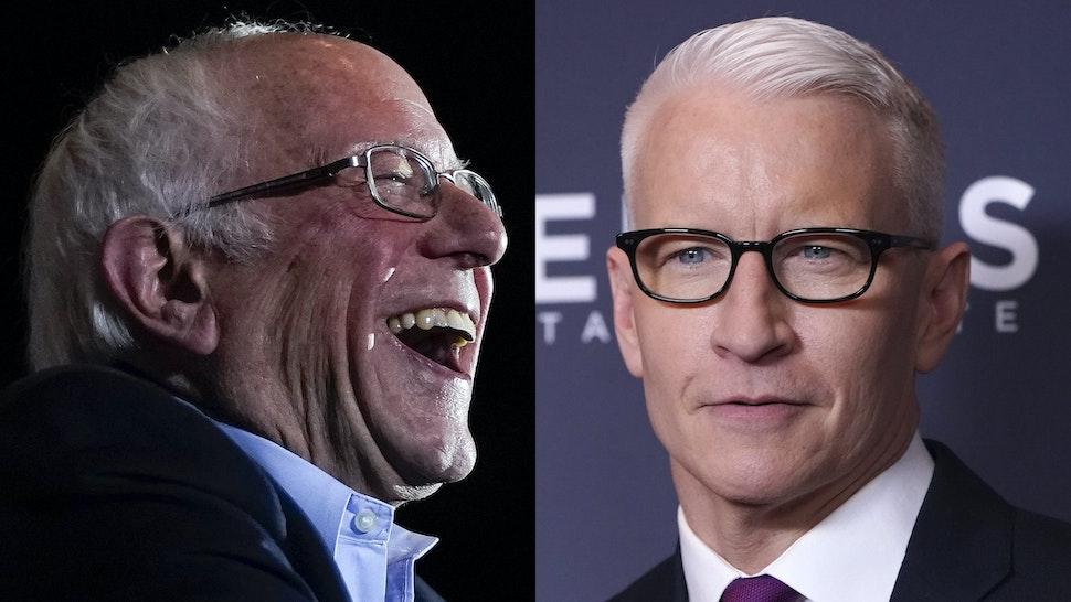 Bernie Sanders Anderson Cooper