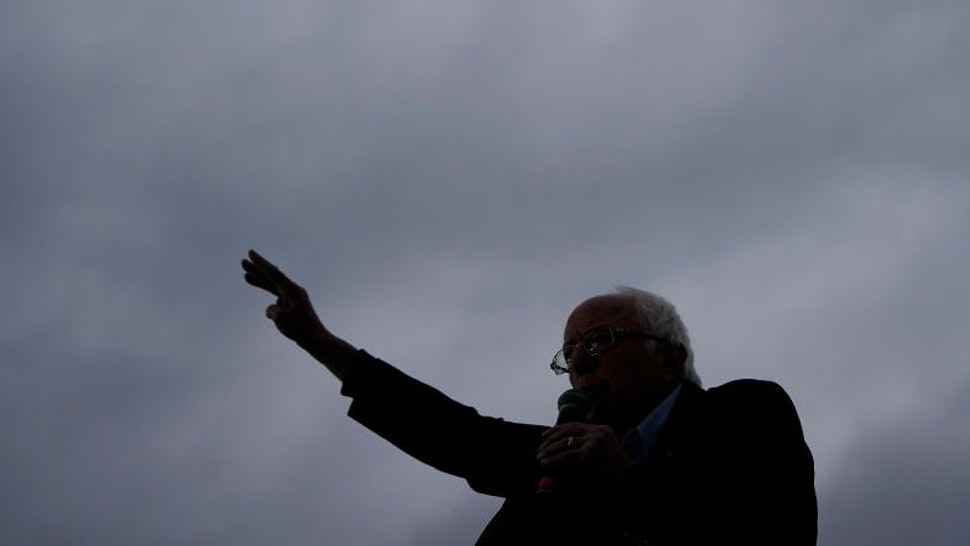 Democratic presidential candidate Sen. Bernie Sanders (I-VT) speaks during a campaign rally at Vic Mathias Shores Park on February 23, 2020 in Austin, Texas. With early voting underway in Texas, Sanders is holding four rallies in the delegate-rich state this weekend before traveling on to South Carolina. Texas holds their primary on Super Tuesday March 3rd, along with over a dozen other states. (Photo by Drew Angerer/Getty Images)