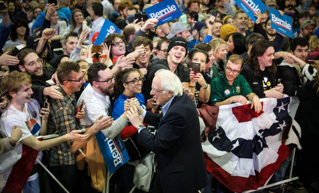 WATCH: Brawl Breaks Out At Sanders Rally; Video Shows What Started It: 'Black Guns Matter' Shirt