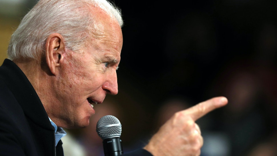 CEDAR RAPIDS, IOWA - FEBRUARY 01: Democratic presidential candidate former Vice President Joe Biden speaks during a campaign event on February 01, 2020 in Cedar Rapids, Iowa. With two days to go before the 2020 Iowa Presidential caucuses, Joe Biden is campaigning across Iowa.