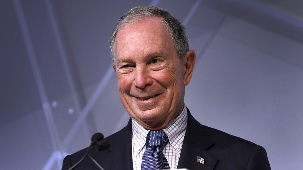 DETROIT, MI - OCTOBER 29: Michael Bloomberg, billionaire and former Mayor of New York City, speaks at CityLab Detroit, a global city summit, on October 29, 2018 in Detroit, Michigan. Bloomberg is considered to be a potential Democratic presidential candidate for the 2020 election.