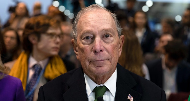 Democratic presidential candidate for US and former New York City Mayor Michael Bloomberg attends an event at the COP25 Climate Conference on December 10, 2019 in Madrid, Spain.