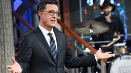NEW YORK - FEBRUARY 4: The Late Show with Stephen Colbert during Tuesday's February 4, 2020 live show.