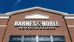 WOODBRIAR EAST, BUFORD, GEORGIA, UNITED STATES - 2019/03/28: Exterior of Barnes and Noble bookstore, Mall of Georgia. (Photo by John Greim/LightRocket via Getty Images)