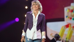 Chrissie Hynde performs on stage during BBC Proms In The Park 2019 at Hyde Park on September 14, 2019