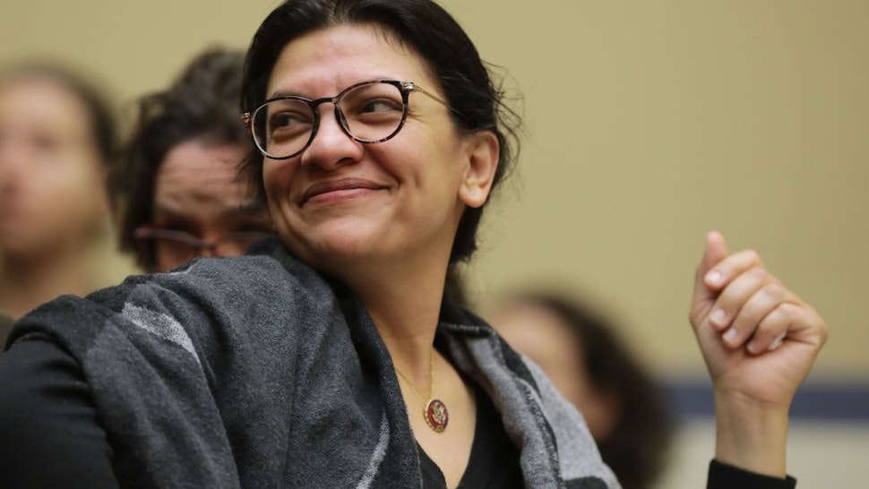 House Oversight and Reform Committee member Rep. Rashida Tlaib (D-MI) attends a hearing about the 2020 census in the Rayburn House Office Building on Capitol Hill January 09, 2020 in Washington, DC.