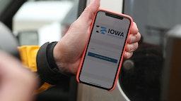 Voting App for Iowa Caucus