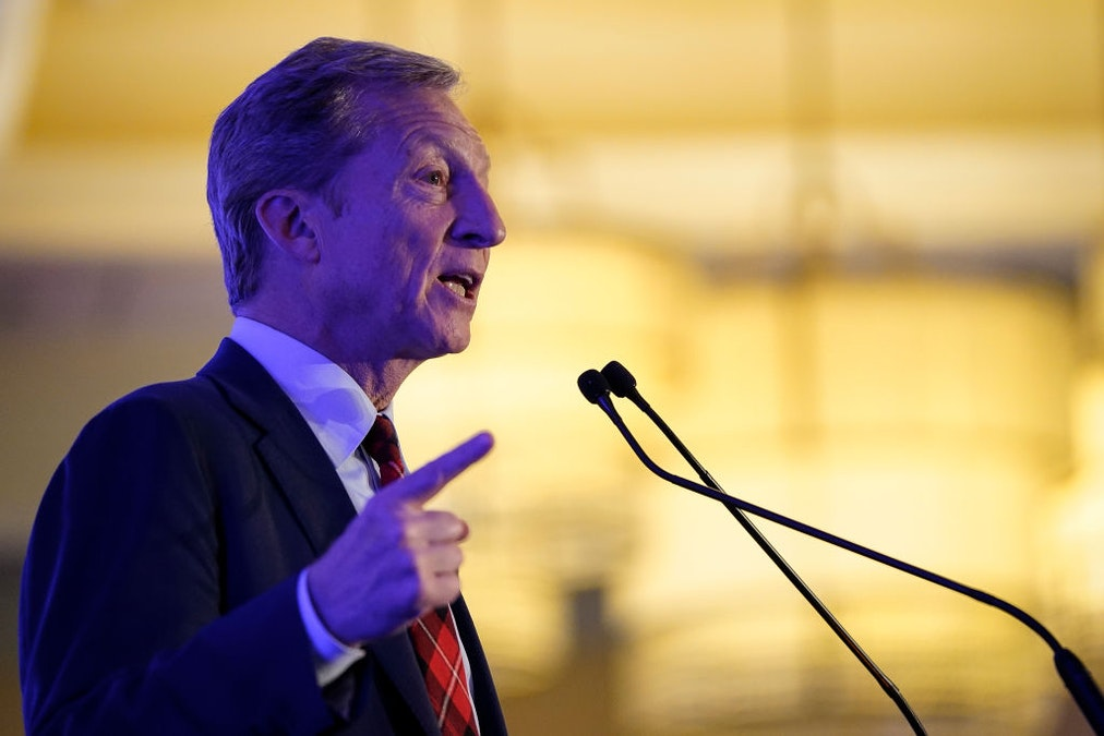 Authoritarian Left: Tom Steyer Says As President He Will Tell Companies What Cars They Can Build And How They Can Generate Electricity