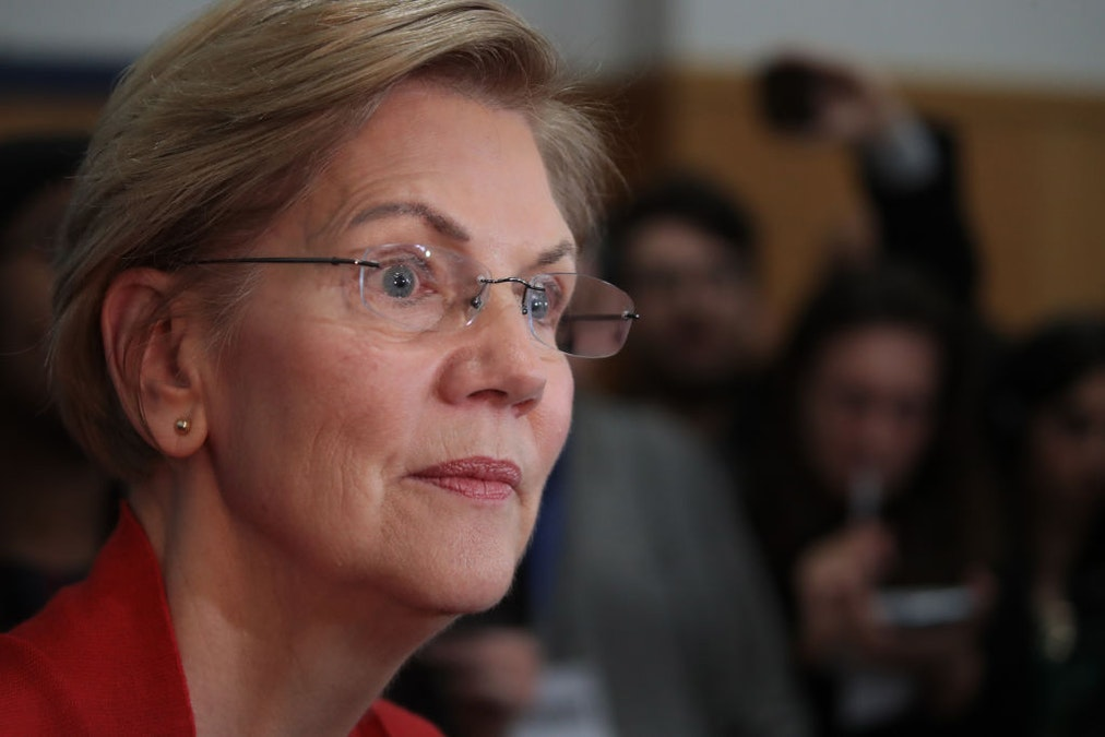 Asked Who'd Be Her V.P., Warren Sneers That Pence Is A 'Dog'