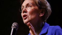 Democratic presidential candidate, Senator Elizabeth Warren (D-MA) speaks at a Get Out the Vote Rally at South Carolina State University ahead of South Carolina's primary on February 26, 2020 in Orangeburg, South Carolina.