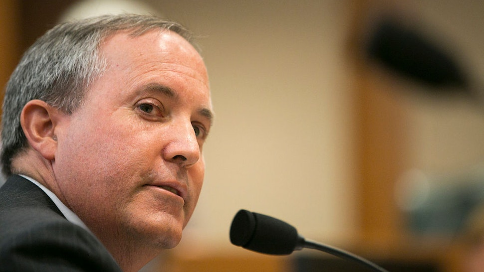 Texas Attorney General Ken Paxton testifies in front of the Senate Committee on Health and Human Services, just a few days before a grand jury indicts him on three felonies