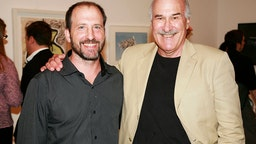 Michael Vachon and Ira Glasser attend reFORM Art Auction for the DRUG POLICY ALLIANCE at Cheim & Read on September 3, 2008 in New York City.