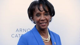 Los Angeles District Attorney Jackie Lacey attends the 19th Annual Slavery To Freedom Gala at Skirball Cultural Center on May 18, 2017 in Los Angeles, California.