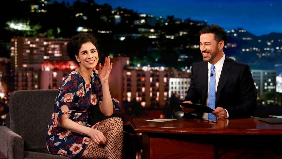 Jimmy Kimmel Sarah Silverman