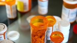 Variety of Pills - stock photo