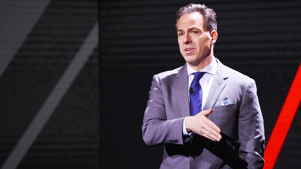NEW YORK, NEW YORK - MAY 15: Jake Tapper of CNN's The Lead with Jake Tapper and CNN's State of the Union with Jake Tapper speaks onstage during the WarnerMedia Upfront 2019 show at The Theater at Madison Square Garden on May 15, 2019 in New York City. 602140