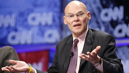 14888_232.jpg_James Carville at the CNN Election Breakfast 2007 at Gotham Hall on October 16, 2007 in New York City.