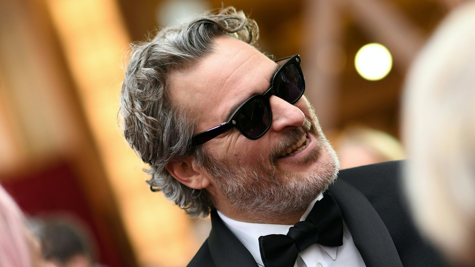 US actor Joaquin Phoenix arrives for the 92nd annual Oscars at the Dolby Theatre in Hollywood, California on February 9, 2020.