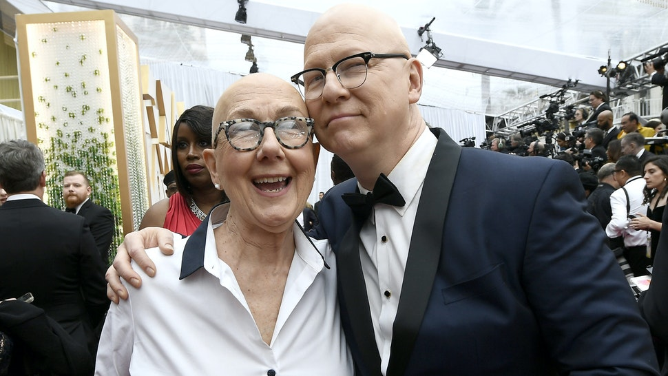 HOLLYWOOD, CALIFORNIA - FEBRUARY 09: (L-R) Filmmakers Julia Reichert and Steven Bognar attends the 92nd Annual Academy Awards at Hollywood and Highland on February 09, 2020 in Hollywood, California.