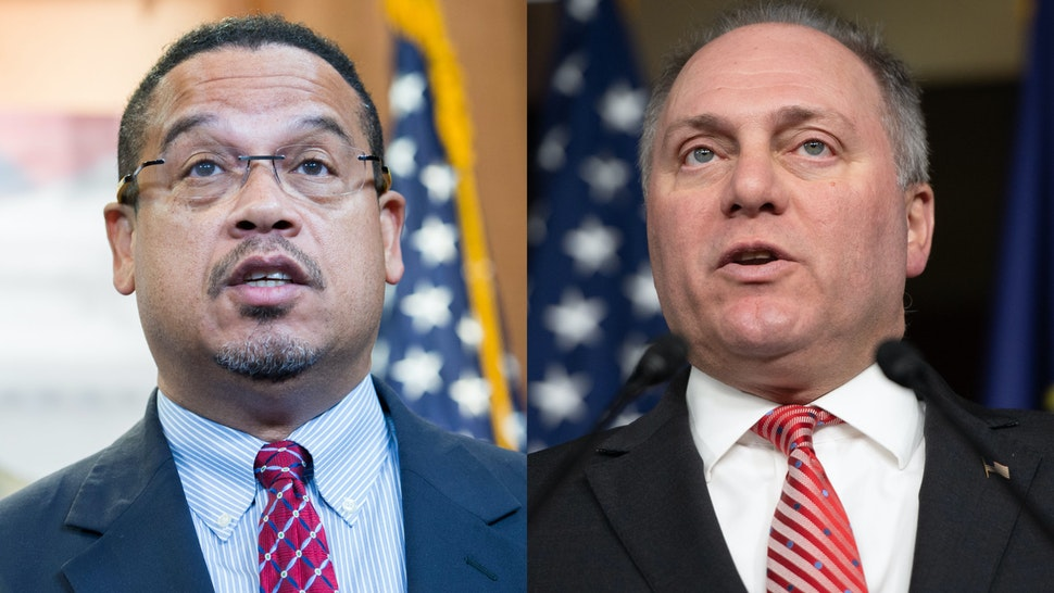 Steve Scalise Keith Ellison