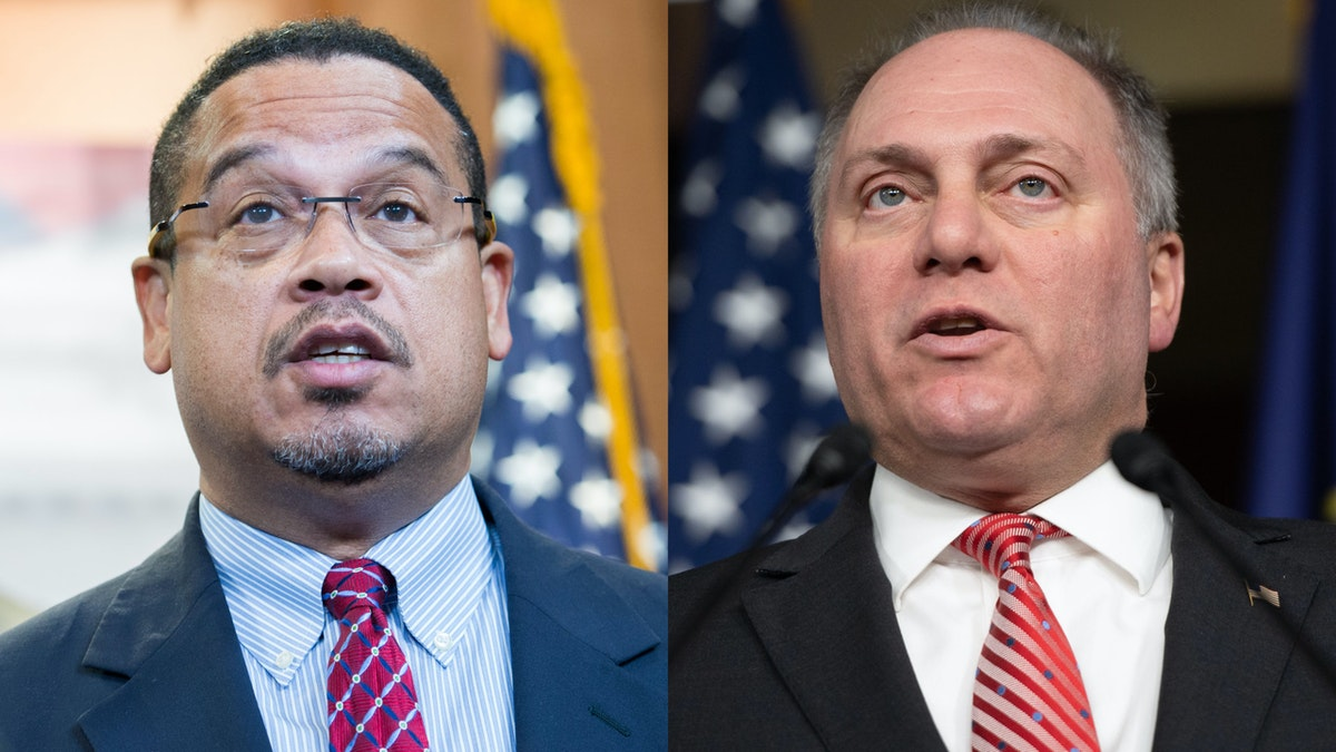 Keith Ellison Claims 'Bernie Bros' Are Not Violent. Steve Scalise Responds With A Zinger.