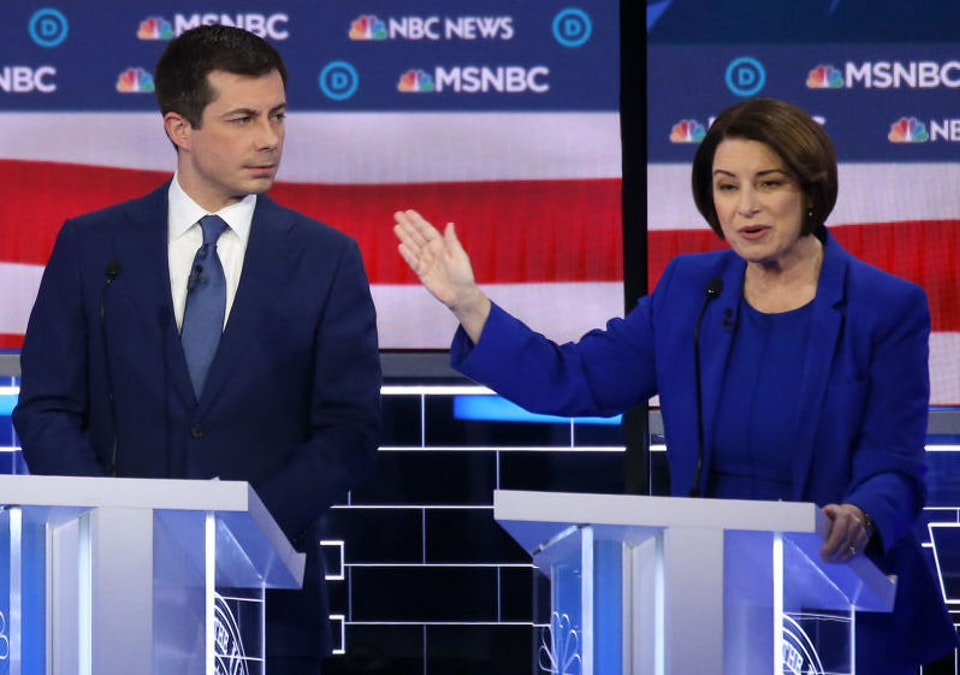 Chaos Erupts After Mexico Trivia Question; Klobuchar To Buttigieg: 'You Trying To Say That I'm Dumb?'