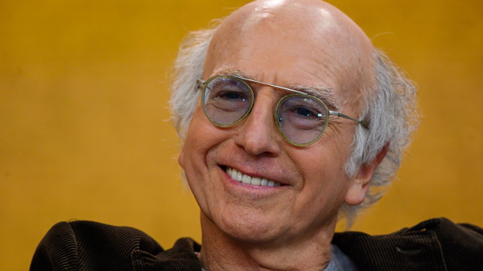 TODAY -- Pictured: Larry David on Friday, January 10, 2020 --