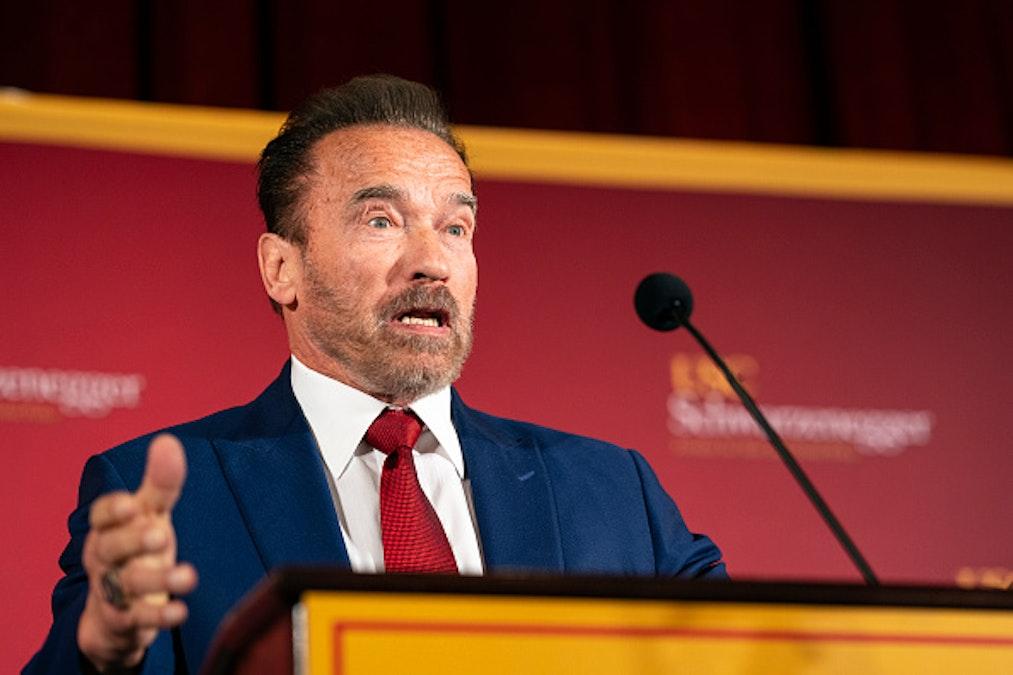 Anti-Trump Arnold Schwarzenegger Thanks President For Addressing Homeless Crisis