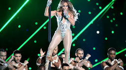 Jennifer Lopez performs onstage during the Pepsi Super Bowl LIV Halftime Show at Hard Rock Stadium on February 02, 2020 in Miami, Florida.