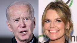 Former U.S. Vice President Joe Biden, 2020 Democratic presidential candidate, speaks during a campaign event in Clinton, Iowa, U.S., on Tuesday, Jan. 28, 2020. //Savannah Guthrie attends the 2019 Common Sense Awards at The Shed on October 29, 2019 in New York City.