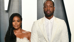 Gabrielle Union and Dwyane Wade attend the 2020 Vanity Fair Oscar Party hosted by Radhika Jones at Wallis Annenberg Center for the Performing Arts on February 09, 2020 in Beverly Hills, California.