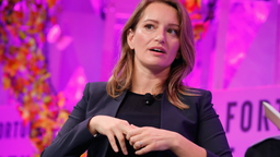 MSNBC Anchor and NBC News Correspondent Katy Tur speaks onstage at the Fortune Most Powerful Women Summit - Day 3 on October 11, 2017 in Washington, DC.