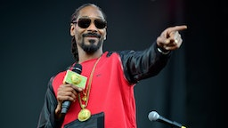 AUSTIN, TX - MARCH 15: Snoop Dogg performs onstage at the SXSW Outdoor Stage at Butler Park during the 2014 SXSW Music, Film + Interactive Festival at Butler Park on March 15, 2014 in Austin, Texas.