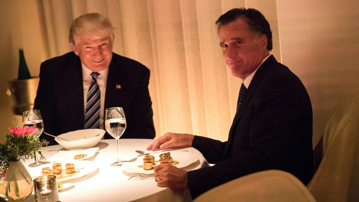 WATCH: Trump Unloads On 'Secret Democrat Asset' Mitt Romney In Digital Ad
